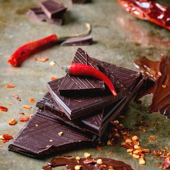 Schokolade und pfeffer