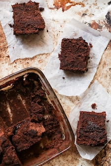 Schokoladen brownie
