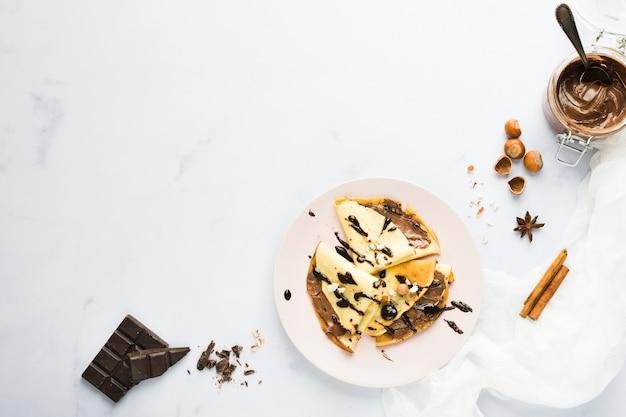 Schokoladen-krepp
