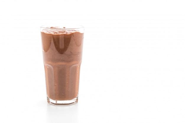 Schokoladen smoothies milchshake