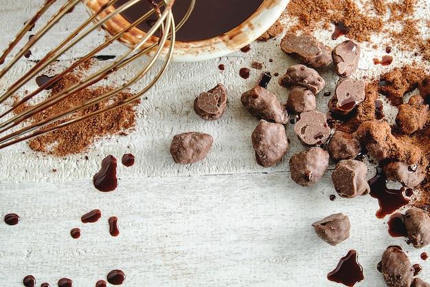 Schokoladen- und schokoladenherstellung