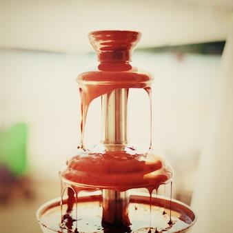 Schokoladenfondue-brunnen