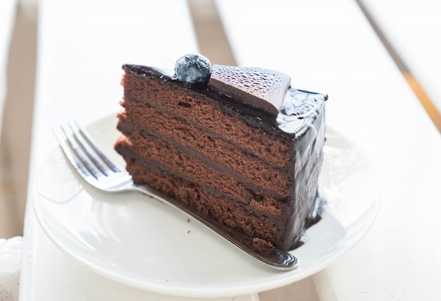 Schokoladenkaramellkuchen