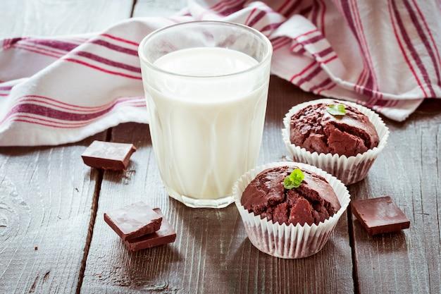 Schokoladenmuffins.
