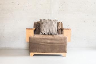 Schönes Luxus-Holzsofa