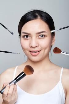 Schönheit skincare Porträt