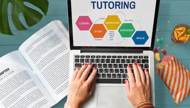 School college education intelligence-konzept