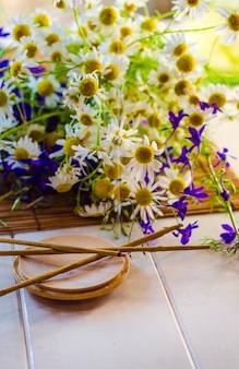 Schornstein aromatische sticks mit dem duft von blumen