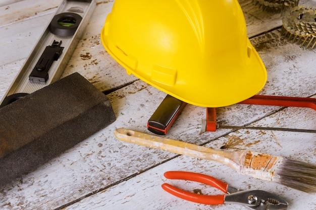 Schraubenschlüssel-konstruktorwerkzeuge an einem tag der arbeit in den vereinigten staaten von amerika sind ein bundesfeiertag
