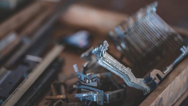 Schreibmaschinen-materialteile
