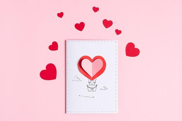 Schritt 13. diy valentine grußkarte, anleitung schritt für schritt.