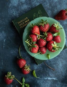 Schüssel erdbeeren