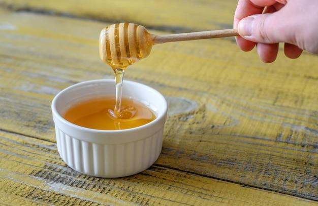 Schüssel honig