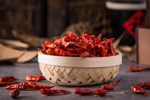 Schüssel voll peperoni