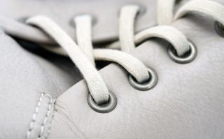 Schuh makroaufnahme