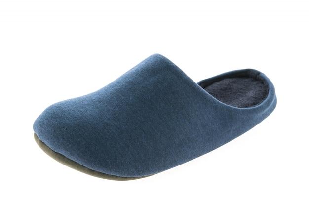 Schuh oder hausschuhe für den gebrauch im haus