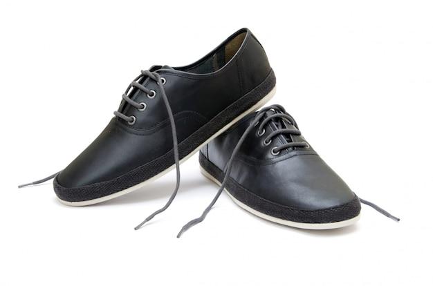 Schuhe auf weiß isoliert