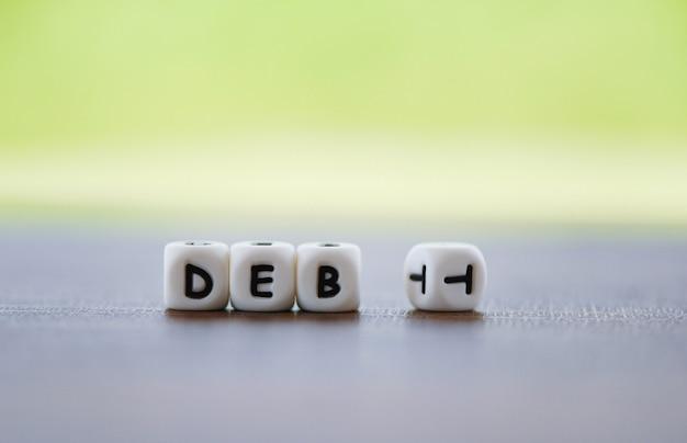 Schulden abbauen