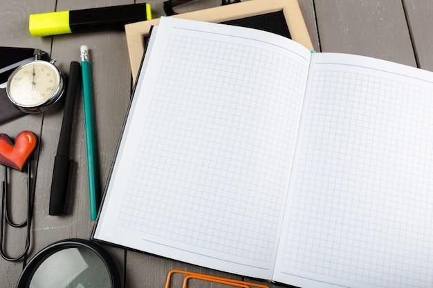 Schule briefpapier nahaufnahme