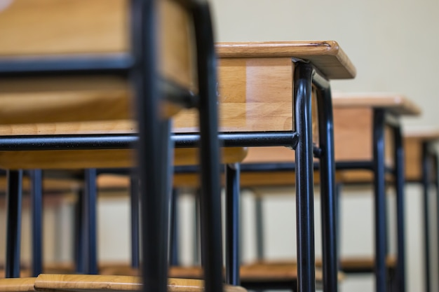 Schule leeres klassenzimmer