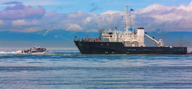Schulung zur freigabe des erbeuteten schiffes