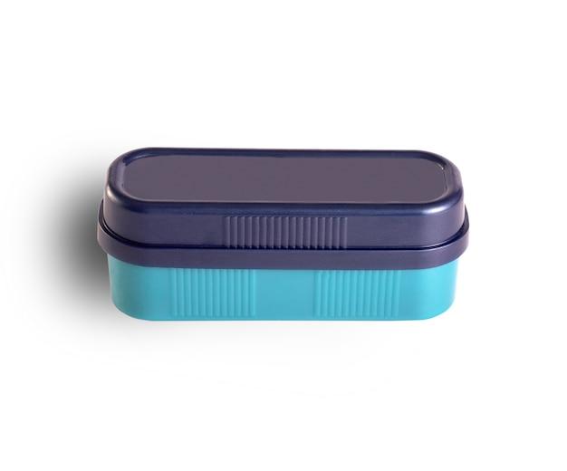 Schwamm zum reinigen von schuhen in einer box