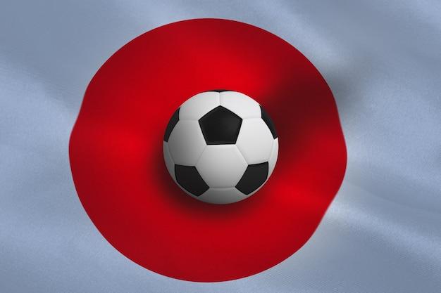Schwarz-weiß-fußball