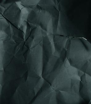Schwarz-weiß-papierhintergrund, zerknitterte papierstruktur