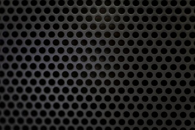 Schwarze bluetooth-lautsprecherbeschaffenheit