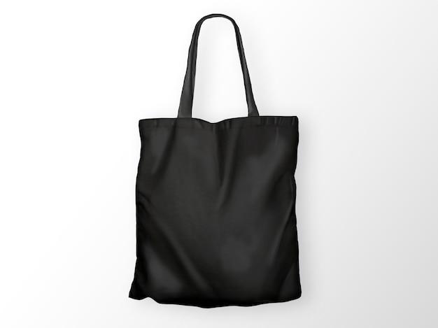 Schwarze einkaufstasche