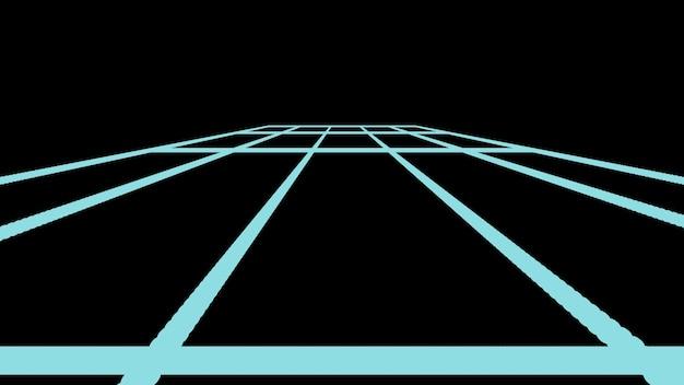 Schwarze geometrische hintergrundrechtecke auf schwarzem hintergrund