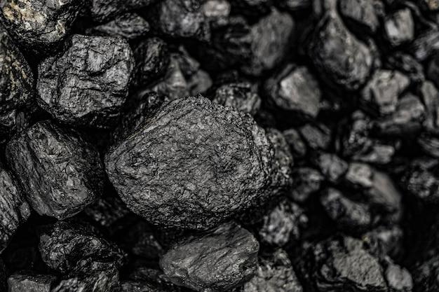 Schwarze kieselsteine makroaufnahme hintergrund