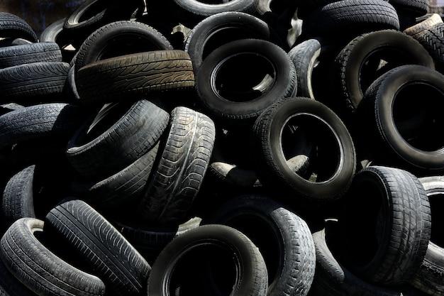 Schwarze pneumatik