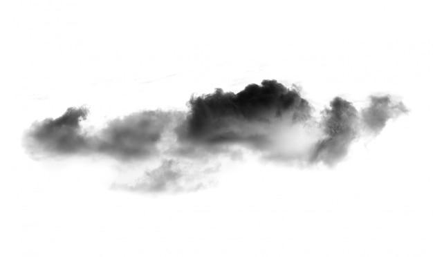 Schwarze wolken