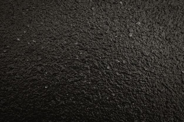 Schwarzer asphalthintergrund
