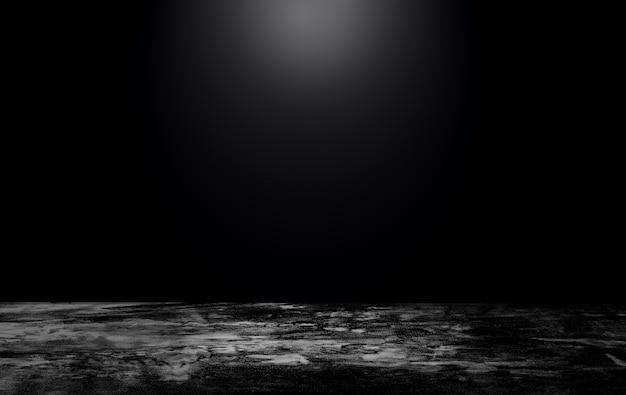Schwarzer betonwandhintergrund