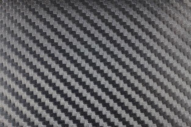 Schwarzer carbon kevlar faser hintergrund.