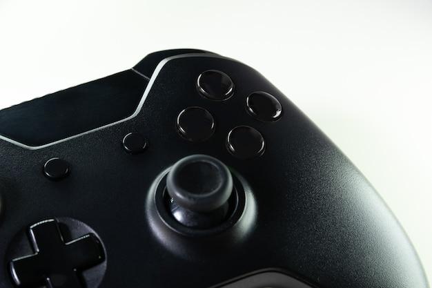 Schwarzer gamecontroller