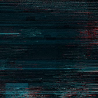 Schwarzer glitch-effekt-texturhintergrund