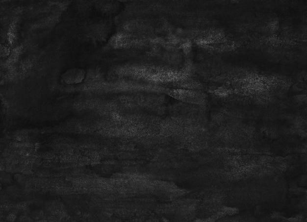 Schwarzer hintergrund des aquarells