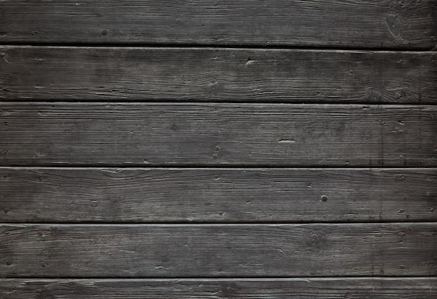 Schwarzer holzhintergrund aus riemen. nahaufnahmefoto