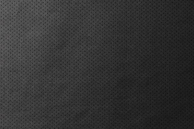 Schwarzer jersey-beschaffenheitshintergrund