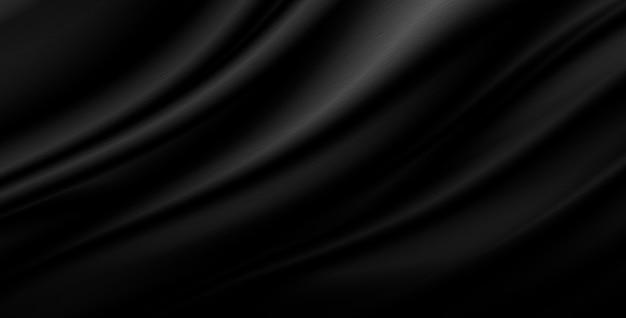 Schwarzer luxusgewebehintergrund