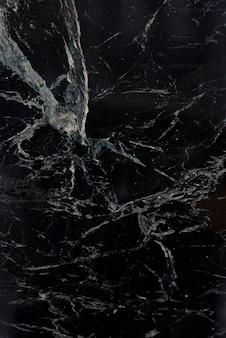 Schwarzer marmor mit weißem muster