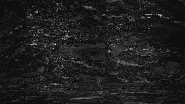 Schwarzer marmorhintergrund