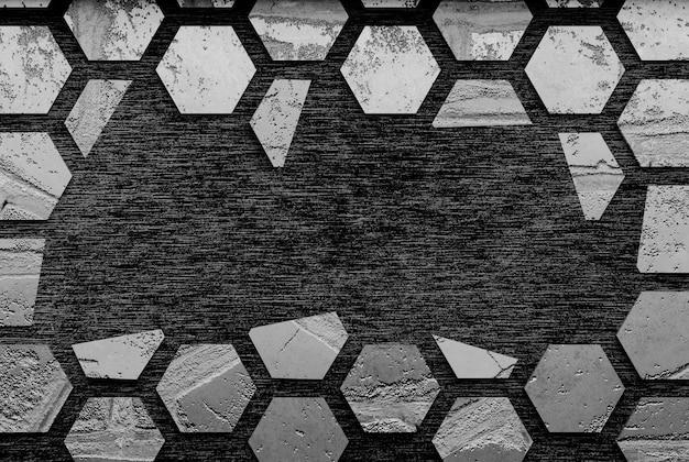 Schwarzer steinhintergrund / 3d-rendering