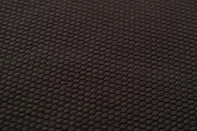 Schwarzer stoff textur
