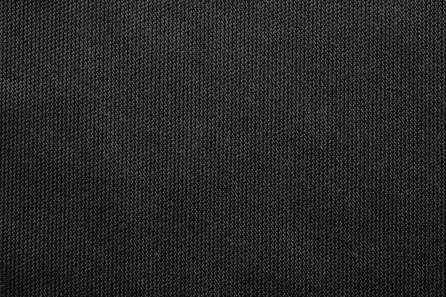 Schwarzer stoff texure musterhintergrund