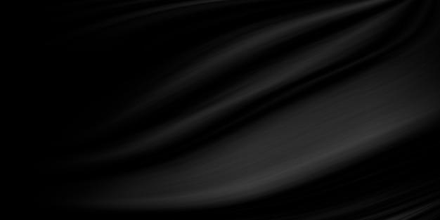 Schwarzer stoffbeschaffenheitshintergrund