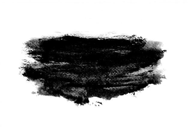 Schwarzer tintenfarbe strichhintergrund
